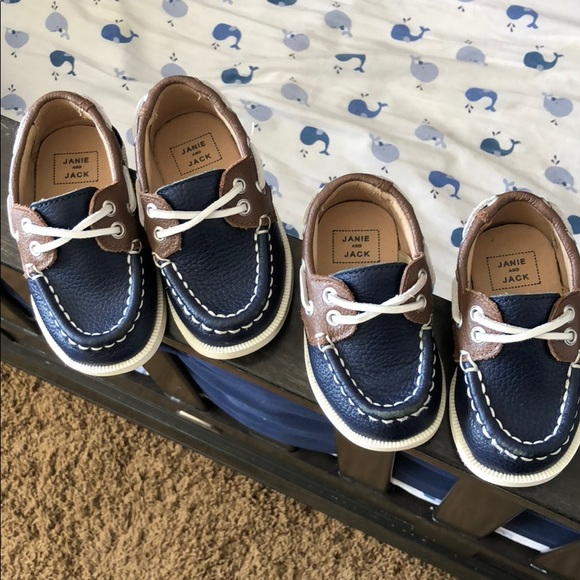 Janie And Jack Baby Boy Boat Shoes